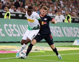 Denis Zakaria (left) and Timo Werner (right).