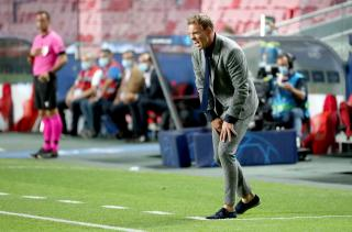 RB Leipzig coach Julian Nagelsmann.