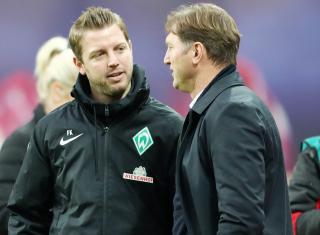 Florian Kohfeldt and Ralph Hasenhüttl.