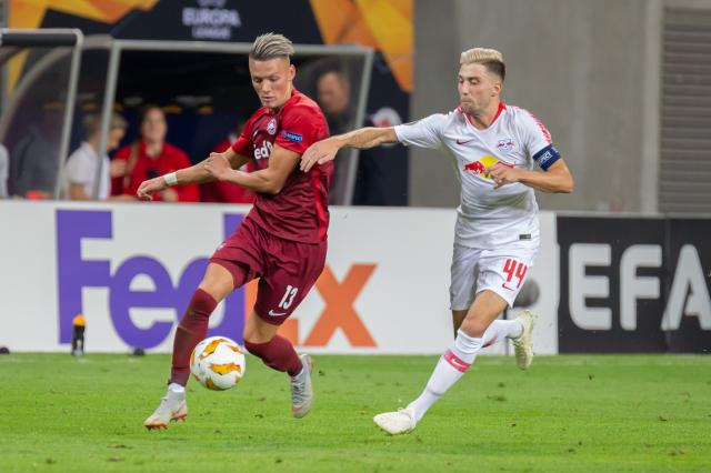 Hannes Wolf (left) and Kevin Kampl (right).
