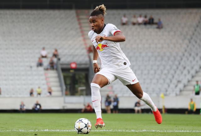 RB Leipzig newcomer Christopher Nkunku is pushing for a spot in the starting eleven.