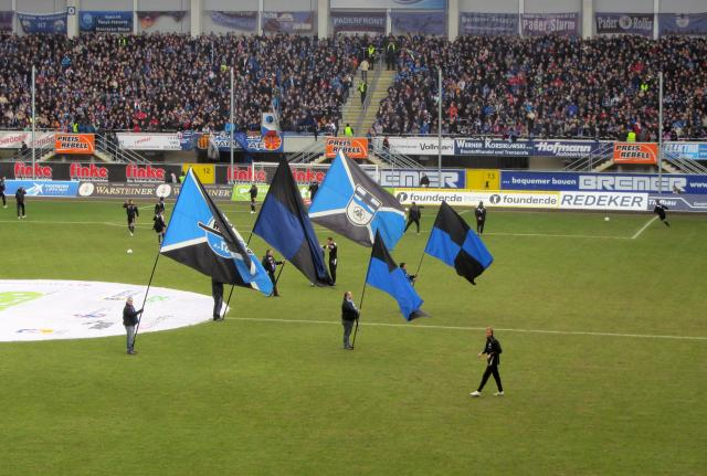 SC Paderborn play their home games at Benteler-Arena.