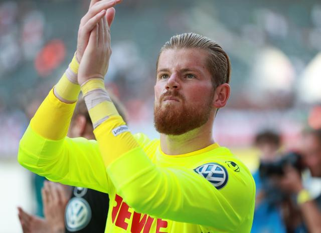 Timo Horn stayed at FC Köln when they were relegated from the Bundesliga in the 2017/18 season.