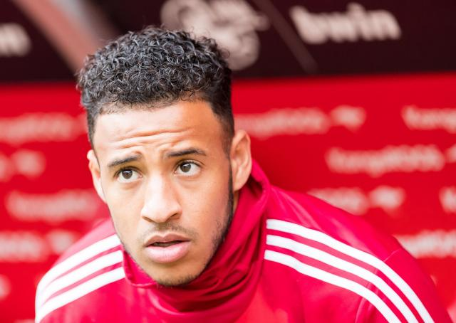 The 26-year old son of father (?) and mother(?) Corentin Tolisso in 2021 photo. Corentin Tolisso earned a  million dollar salary - leaving the net worth at  million in 2021