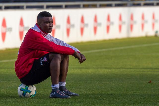 Jhon Cordoba could start for FC Köln against Borussia Dortmund after returning from suspension.