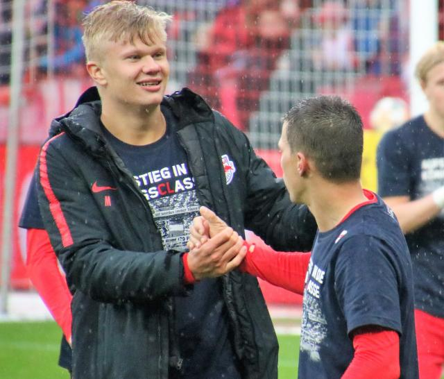 Erling Braut Haaland could leave RB Salzburg for €20 million in January