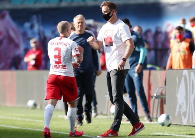 RB Leipzig coach Julian Nagelsmann confident of keeping Angelino