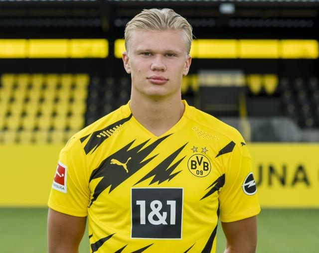 Borussia Dortmund forward Erling Haaland wins Golden Boy award