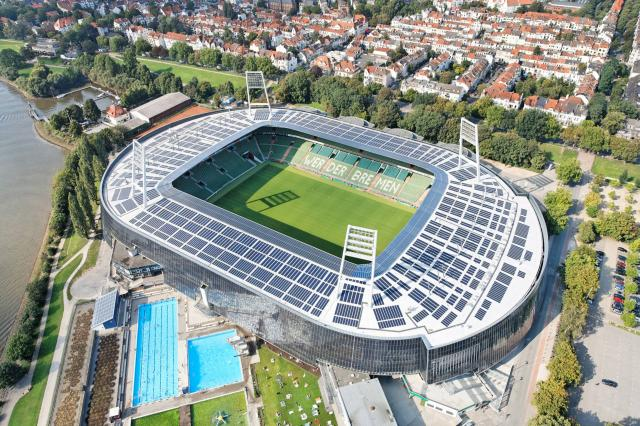 Werder Bremen and Wolfsburg will meet at the Weserstadion.