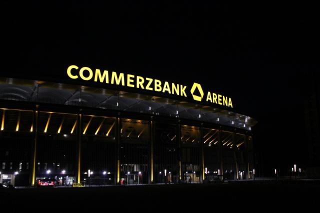 Frankfurt's home ground - Commerzbank-Arena.