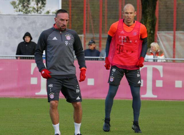 Franck Ribery and Arjen Robben.