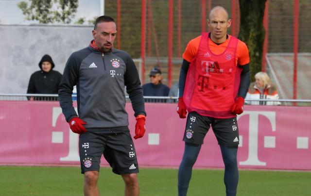 Franck Ribery (35 years old) and Arjen Robben (34 years old).