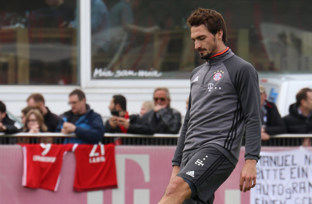 Mats Hummels is said to be unhappy with Niko Kovac.