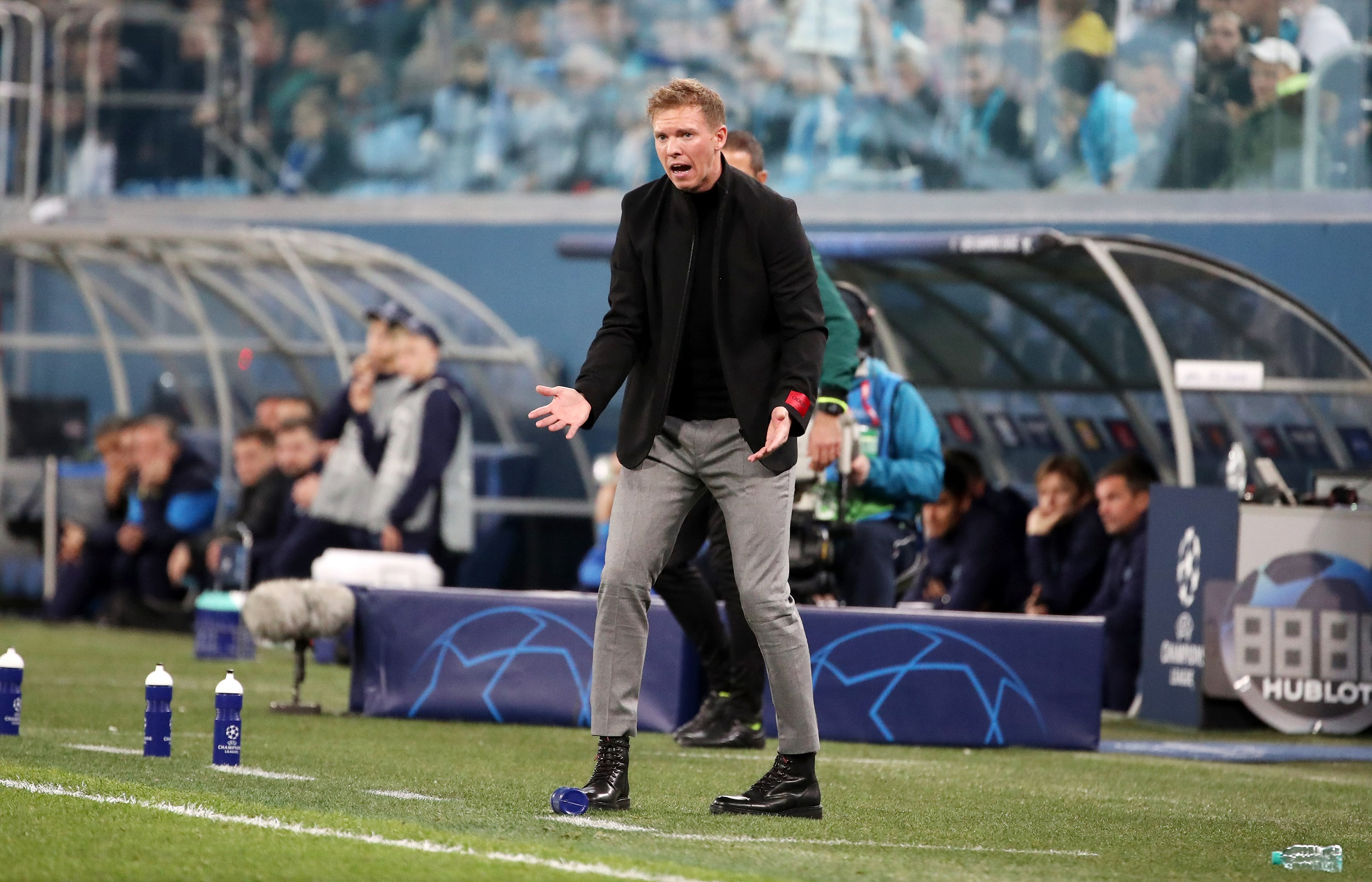 Julian Nagelsmann calls for change in mentality from RB Leipzig youngsters