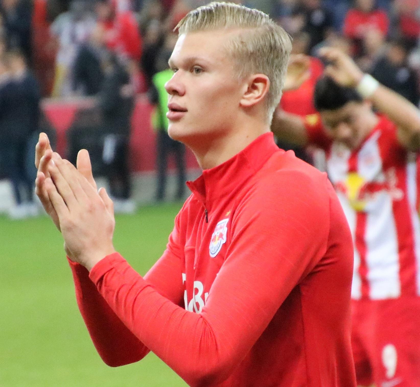 Haaland Nets Hat Trick In Debut As Dortmund Beat Augsburg In Eight Goal Thriller